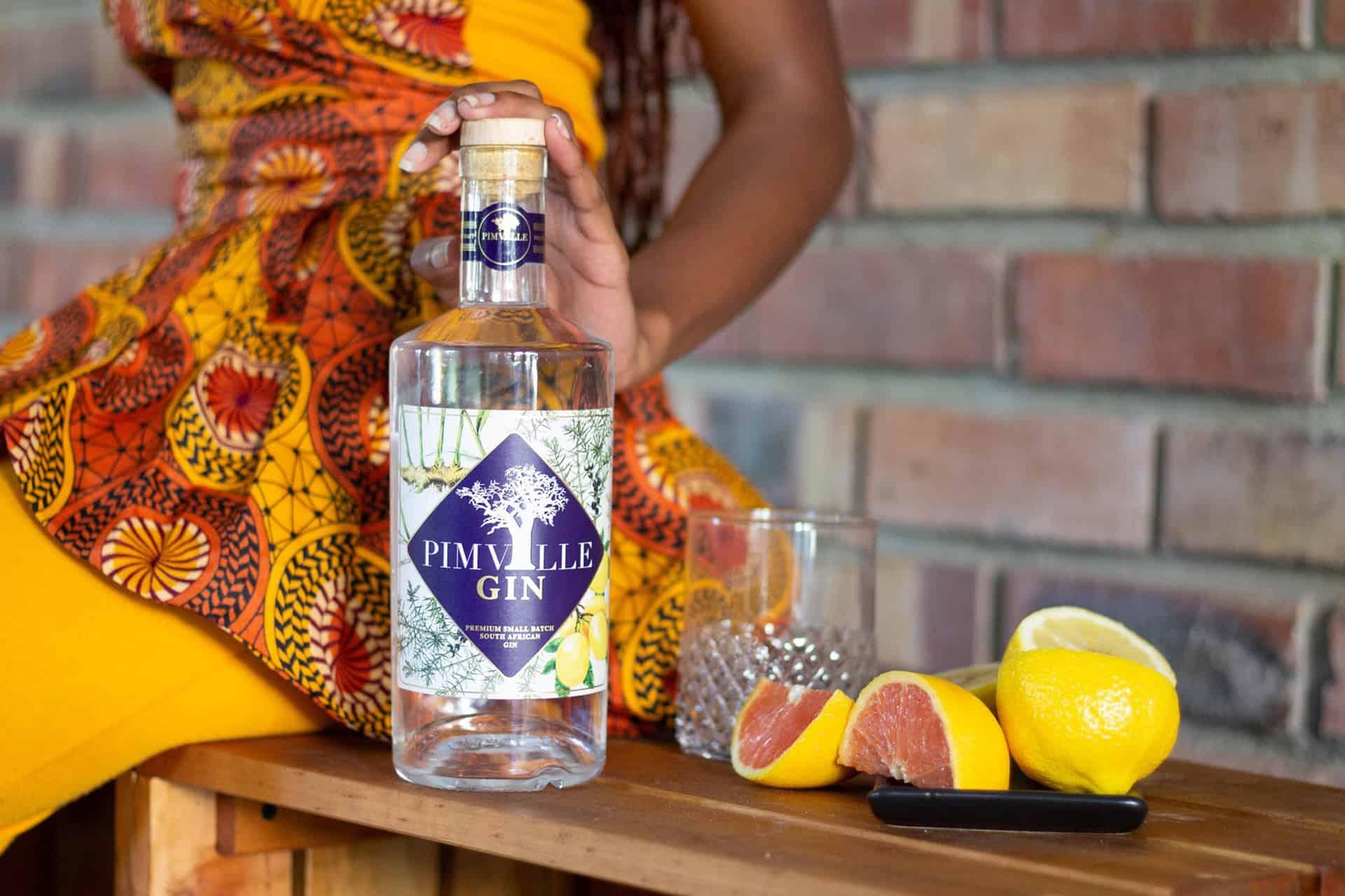 Pimville Gin   Premier quality Gin