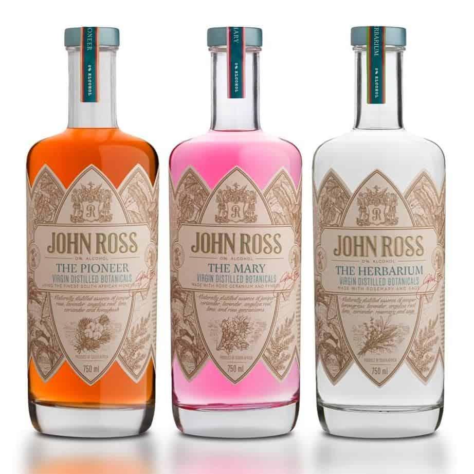 John ross Virgin Distilled Gin